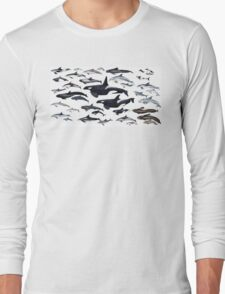 Dolphin diversity Long Sleeve T-Shirt
