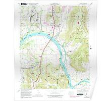 USGS TOPO Map Alabama AL Farley 303819 1964 24000 Poster