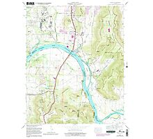 USGS TOPO Map Alabama AL Farley 303819 1964 24000 Photographic Print