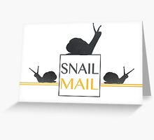 """Snail Mail"" Greeting Card Greeting Card"