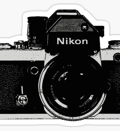 Nikon F2 Sticker