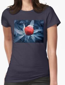 peony 3 Womens Fitted T-Shirt