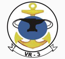 VR-3 Crest Kids Tee