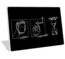 Coffee Cigarette Goodbye Laptop Skin