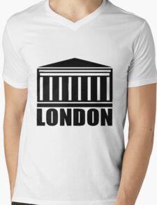 LONDON-ROYAL EXCHANGE Mens V-Neck T-Shirt