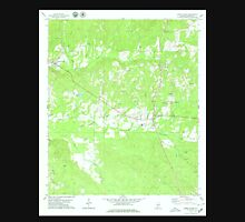 USGS TOPO Map Alabama AL Sweet Water 305150 1978 24000 Unisex T-Shirt