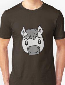 face head sweet cute sitting comic cartoon pony horse pferdchen kawaii child girl baby foal T-Shirt