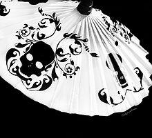 Dia de Los Muertes Umbrella  by Heather Friedman