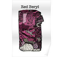 Red Beryl Poster