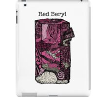 Red Beryl iPad Case/Skin