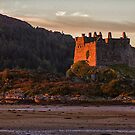 Castle Tioram at Sunset by derekbeattie