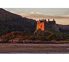Castle Tioram at Sunset Photographic Print