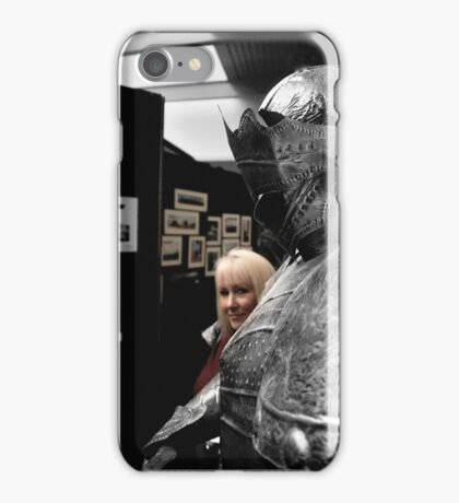 'Just the Other Knight....' iPhone Case/Skin