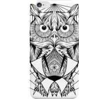 Zentangle Owl iPhone Case/Skin