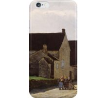 Alfred Sisley - Women Going to the Woods 1866 Landscape iPhone Case/Skin