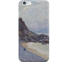 Alfred Sisley - Lady's Cove, Langland Bay, Wales 1897  Impressionism  Landscape  iPhone Case/Skin