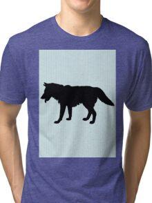 A wolf Tri-blend T-Shirt