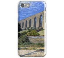 Alfred Sisley - Aqueduct at Marly 1874 Impressionism  Landscape  iPhone Case/Skin