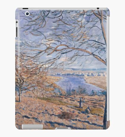 Alfred Sisley - Banks of the Loing - Autumn Effect Impressionism  Landscape  iPad Case/Skin