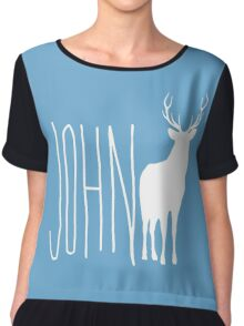 Life is strange John Deer Chiffon Top