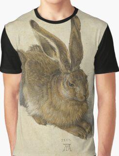 Albrecht Durer  - Hare 1502  Portrait Fashion Graphic T-Shirt