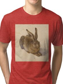 Albrecht Durer  - Hare 1502  Portrait Fashion Tri-blend T-Shirt