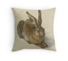 Albrecht Durer  - Hare 1502  Portrait Fashion Throw Pillow