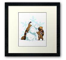 Pokemon - Winter Sentrets Framed Print