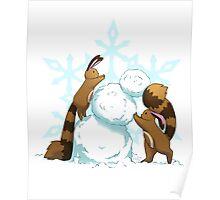 Pokemon - Winter Sentrets Poster