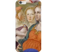 Agnolo Bronzino - The crossing of the Red Sea 1540 - 1545 iPhone Case/Skin