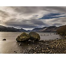 Centenary Stone, Derwent Water Photographic Print