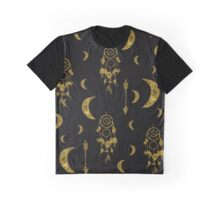 Golden Moon Graphic T-Shirt
