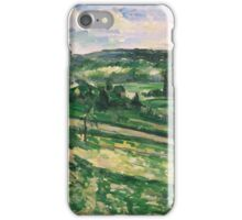 Paul Cezanne - Trees and Rocks, Impressionism  Landscape iPhone Case/Skin