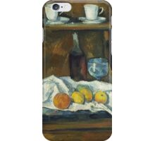 Paul Cezanne - The Buffet 1877 iPhone Case/Skin