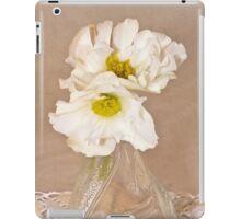 Bottled Begonia Flowers  iPad Case/Skin