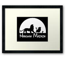 Lion King - Hakuna Matata Framed Print
