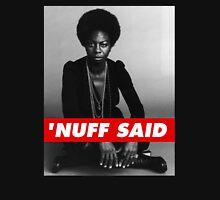 'nuff said Mens V-Neck T-Shirt