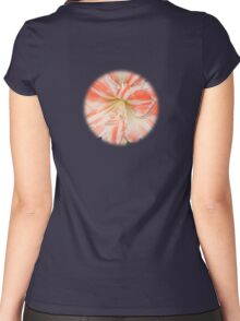 Dancing Queen Amaryllis Women's Fitted Scoop T-Shirt
