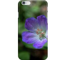 Little Blue Flower iPhone Case/Skin