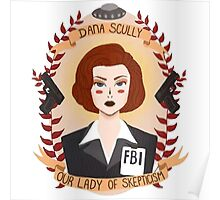 Dana Scully Poster