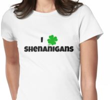 SHENANIGANS Womens Fitted T-Shirt