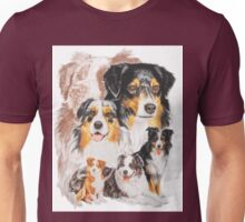 Australian Shepherd /Ghost Unisex T-Shirt