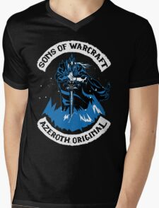 Sons of Warcraft - Azeroth Original Mens V-Neck T-Shirt
