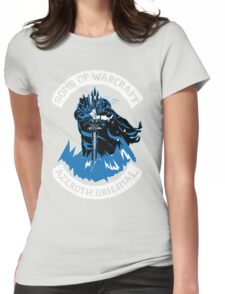 Sons of Warcraft - Azeroth Original Womens Fitted T-Shirt