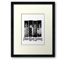 Sister Mary Ashtray Framed Print