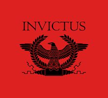 Roman Invictus Eagle, Black Unisex T-Shirt