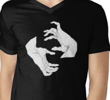 hands Mens V-Neck T-Shirt