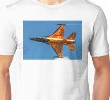 Dutch F-16 2012 Solo Demonstrator Unisex T-Shirt