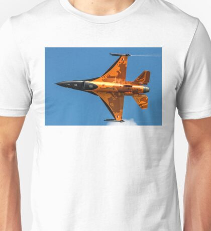 Dutch F-16 2012 Solo Demonstrator Unisex T-Shirt