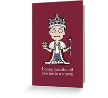 Jim Moriarty (card/notebook/phone) Greeting Card